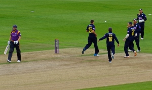 Barber second wicket