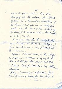 CB Fry's handwriting sample