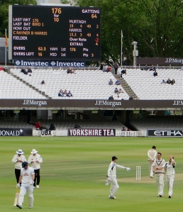 Gatting 64* Lord's