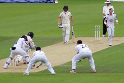 Crane first wkt Kerrigan day 4 Lancs.jpg