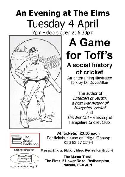 A Game for Toffs Poster I (2) copy 2