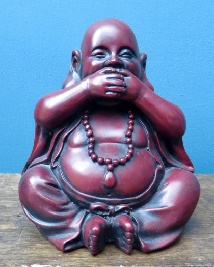 Buddha no speak