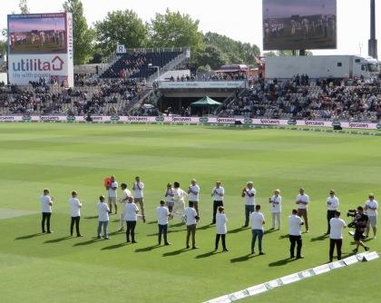 Thank You & England batsmen