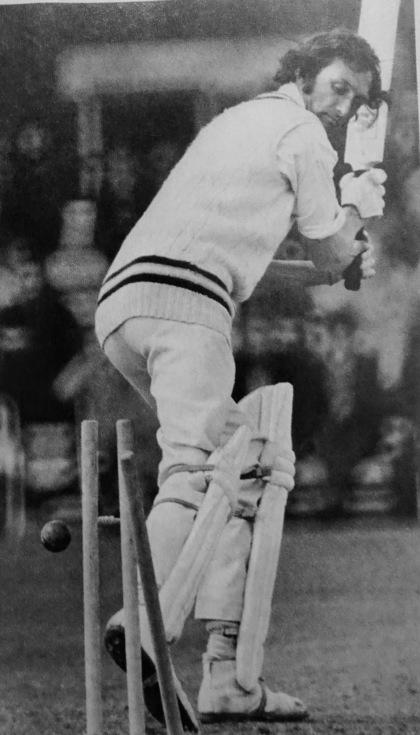 Mottram bowled