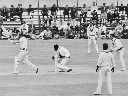 B Richards v West INdians 1969